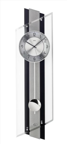 moderne wandklokken met quartz slingerwerk juwelier van. Black Bedroom Furniture Sets. Home Design Ideas